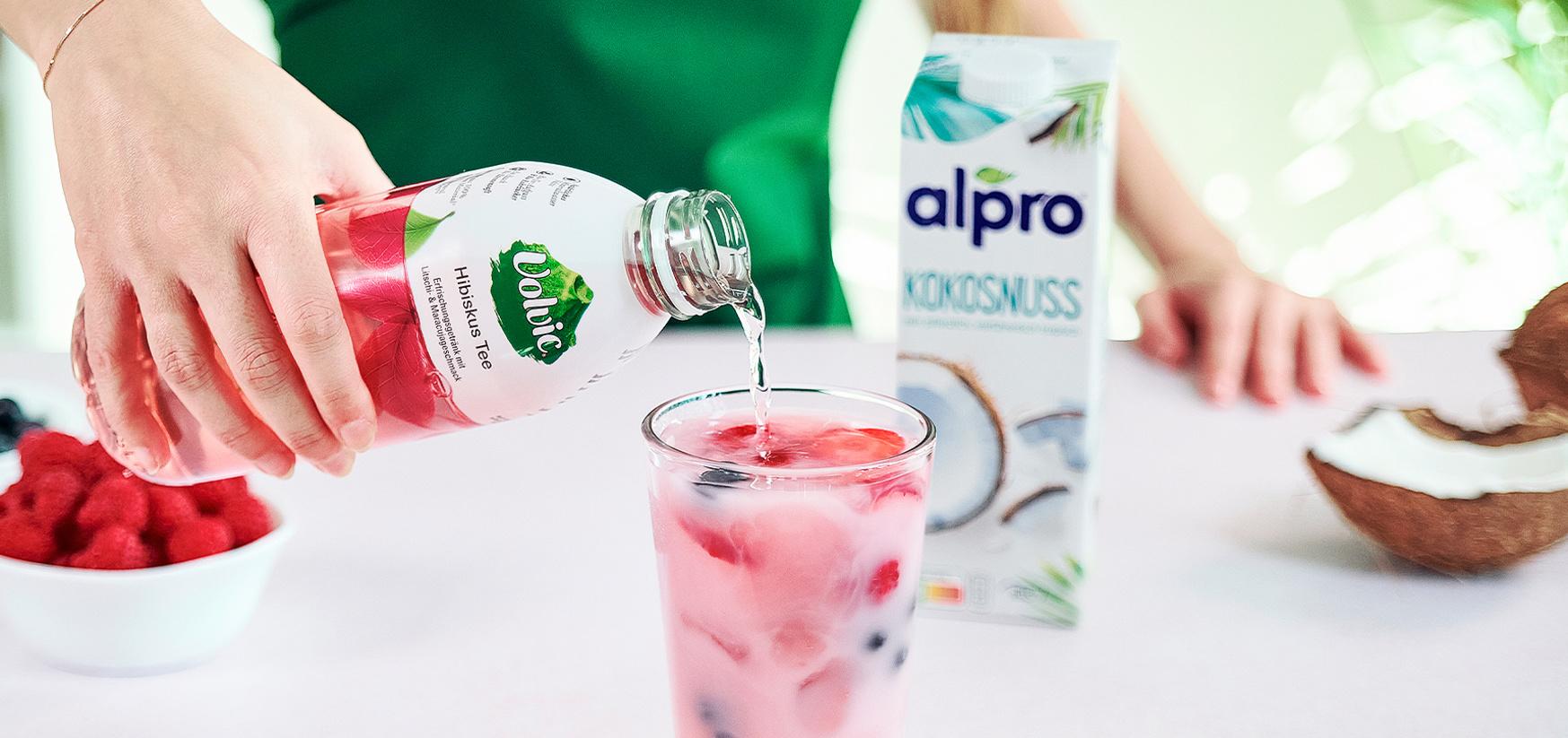 Volvic TikTok Pink Drink